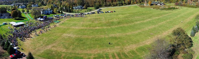 stitched quadcopter photo of VTPC Festival