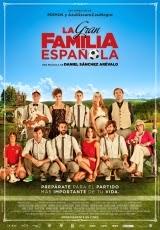 Carátula del DVD La gran familia española