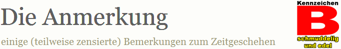 Die Anmerkung