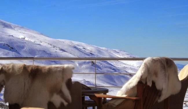 Terraza Nevada, hotel El Lodge.