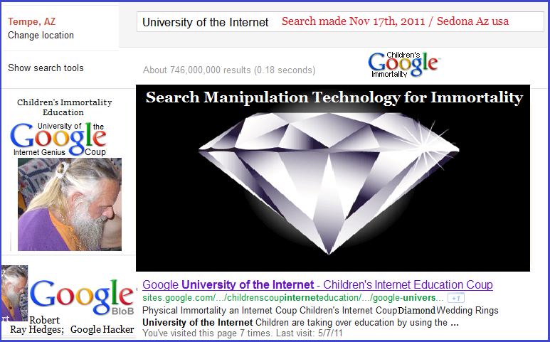 Control Search Engine Results: Management University of the Internet