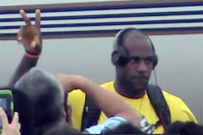 Lebron James Arrives in Manila, Philippines