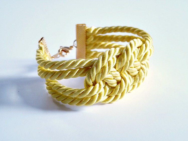 Bright yellow bracelet