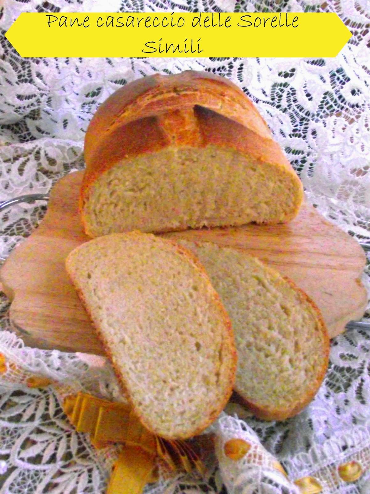 il pane casareccio delle simili ovvero come ti faccio il pane e te lo riciclo pure !!