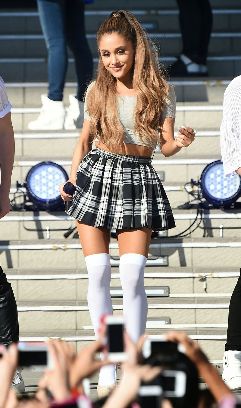 style | ariana grande - stelly blog