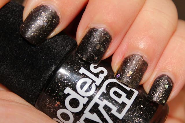 NOTD - Models Own Velvet Goth Obsidian