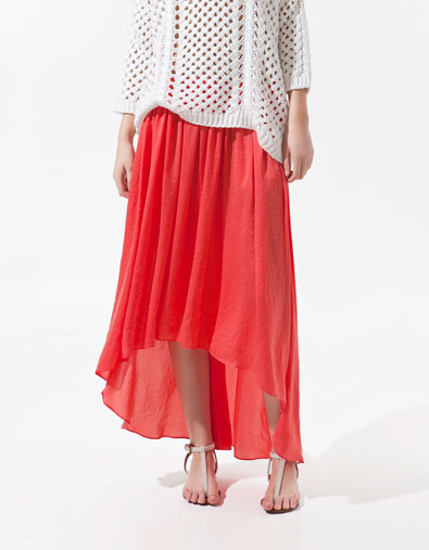 Five in the morning craving for long skirts