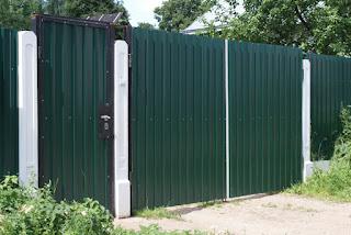 Забор из профлиста. Фото 21