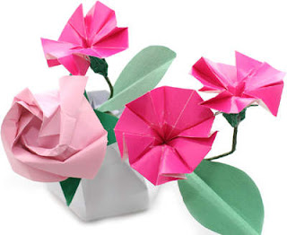 Beautiful Origami Flower Design Pictures