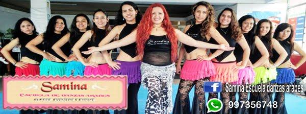 SAMINA   ESCUELA DE DANZAS ARABES LIMA PERU