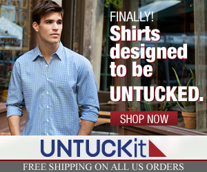Get 25% off at UNTUCKit