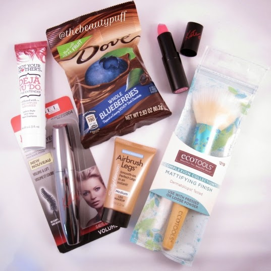 #BellaVoxBox Influenster - the beauty puff