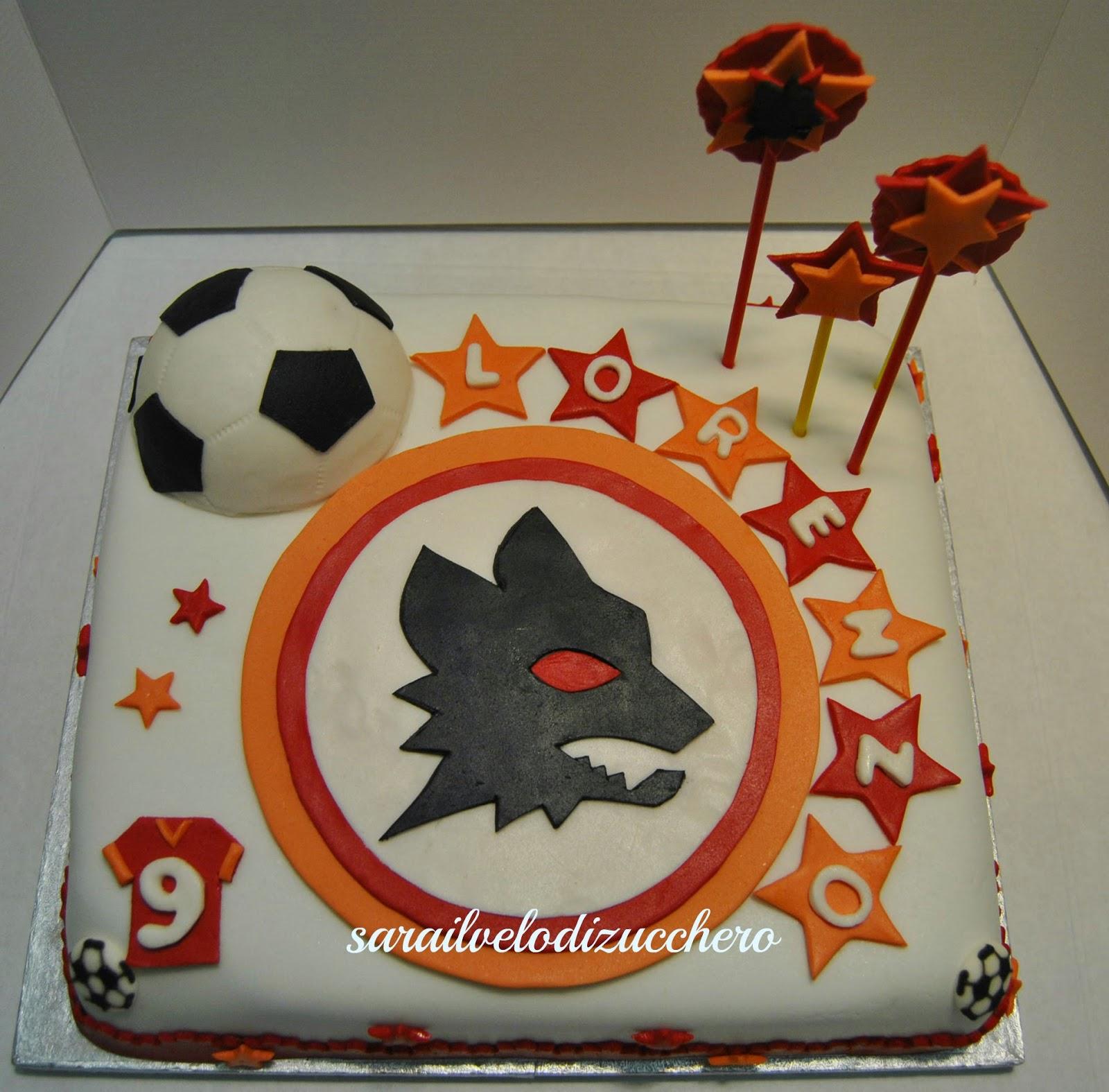 Cake Design Roma Prenestina : ** il Velo Di Zucchero **: Torta della Roma