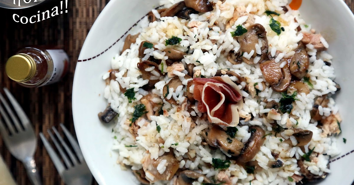 O do cocina ensalada de arroz at n y champi ones con - Ensalada de arroz con atun ...