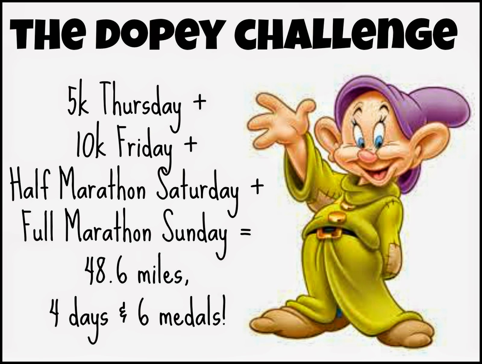 The Dopey Challenge