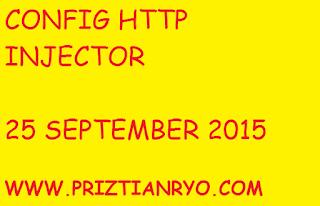 (UPDATE) Config Http Injector Telkomsel 25 September 2015