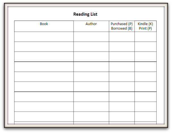 read list Reading list suggested reading for high school (grades 9–12) the following titles are recommended as summer reading both to maintain fluency and reading level and to encourage independent reading.