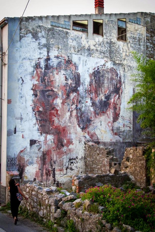 The Best Examples Of Street Art In 2012 And 2013 - by Borondo,Italy