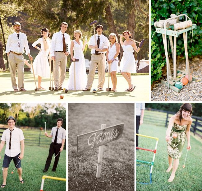 LOVE this idea and I can 39t wait to plan an outdoor backyard wedding for