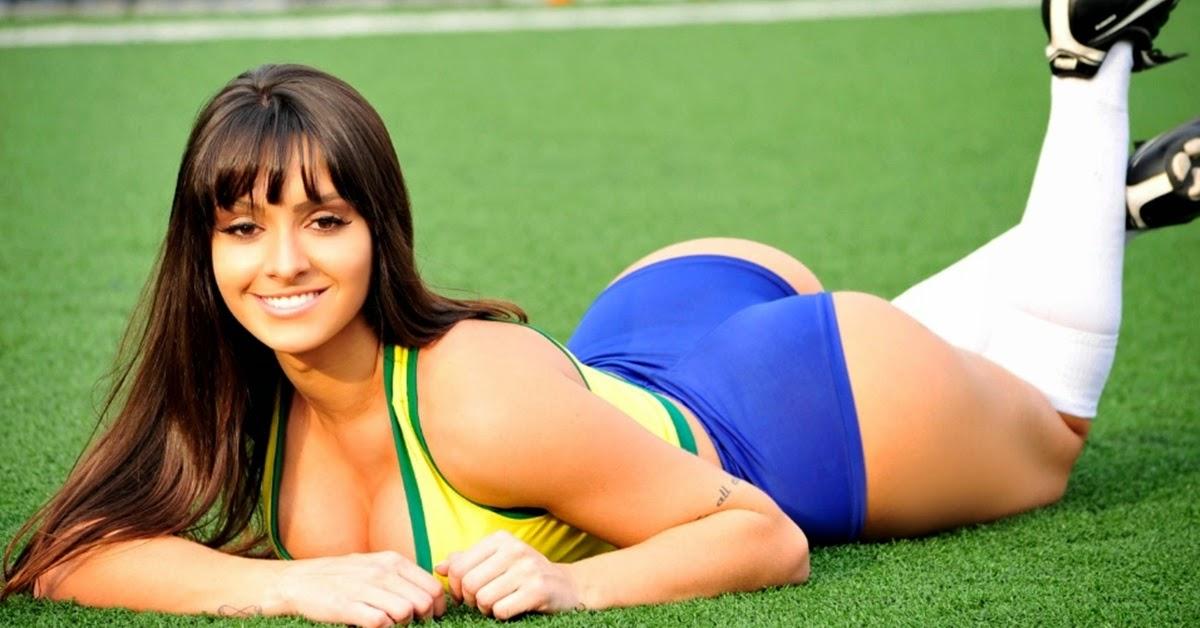 Rayssa Fernandes Representante do Brasil no Belas do Mundial 2014