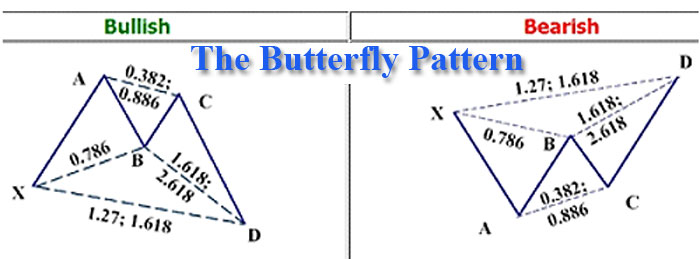 Harmonic pattern forex