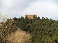 El Castell de Balsareny des dels Plans de Cal Mestres