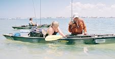 Adventure Woman loves Kayak Fishing