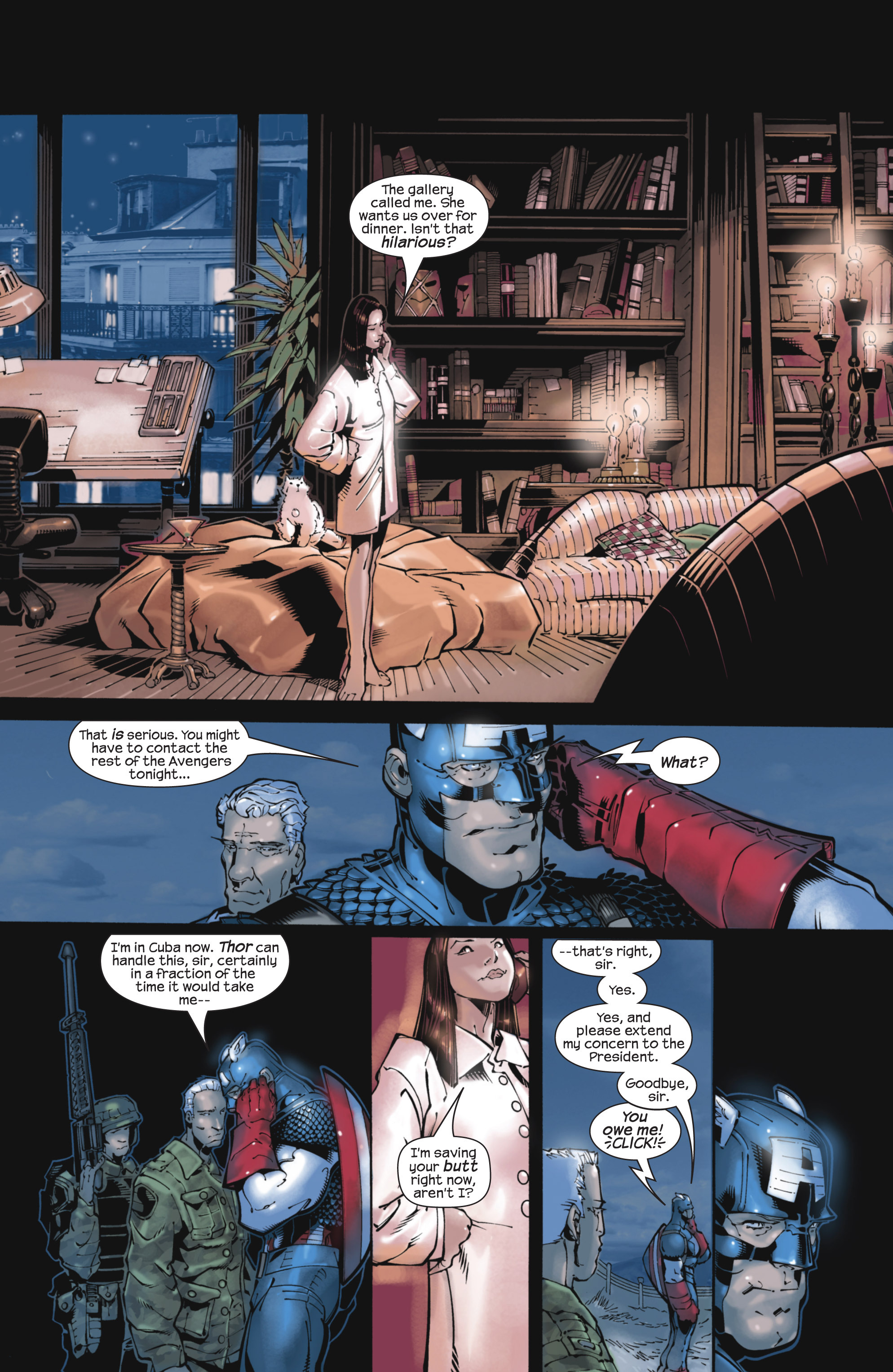 Captain America (2002) Issue #22 #23 - English 20