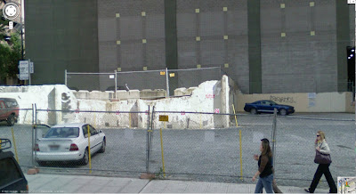 The Mural Location – Before the Mural (Image from maps.google.com)