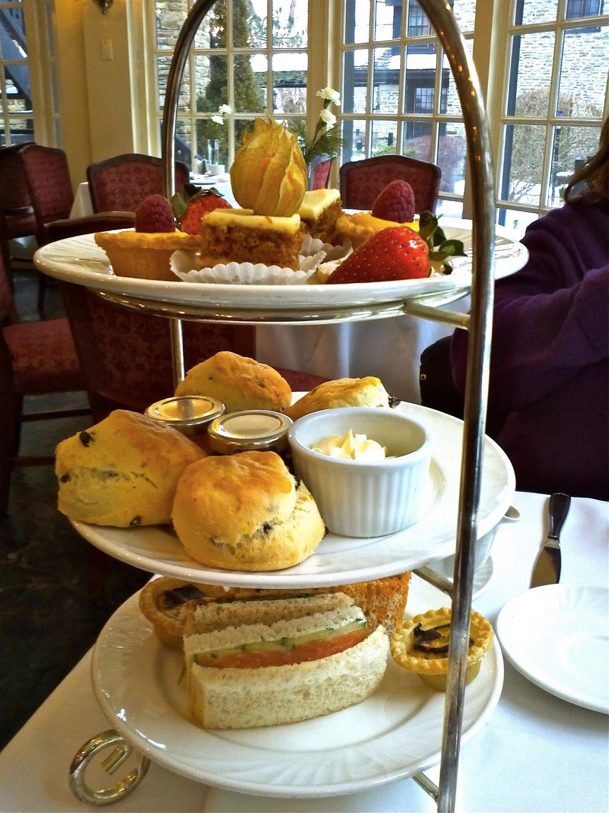 A Spot Of Afternoon Tea At The Old Mill