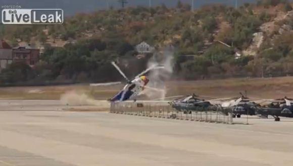 Kecelakaan helikopter Mi-8 Rusia