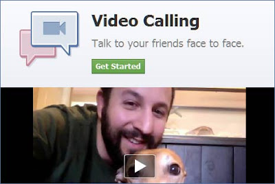 cara video call fb
