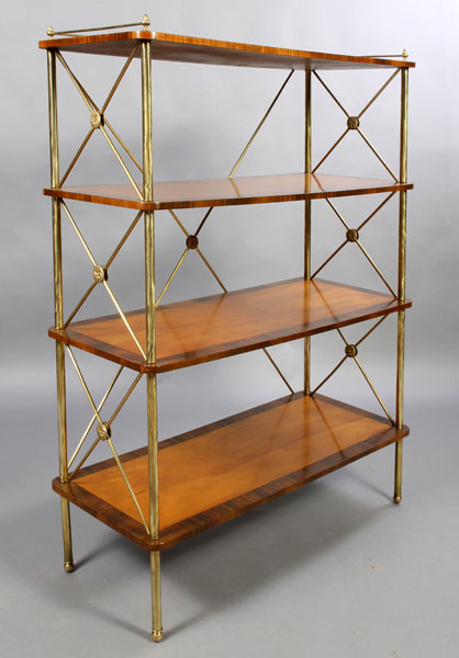style brass design how books brechtel erika etagere bookcase a library to