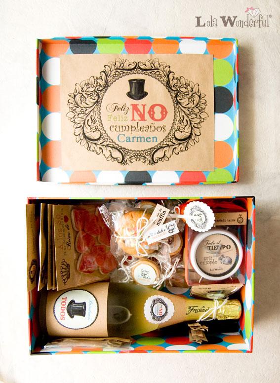Lola wonderful regalos personalizados y dise o para eventos pack no cumplea os para llevar - Ideas de regalos originales para amigas ...