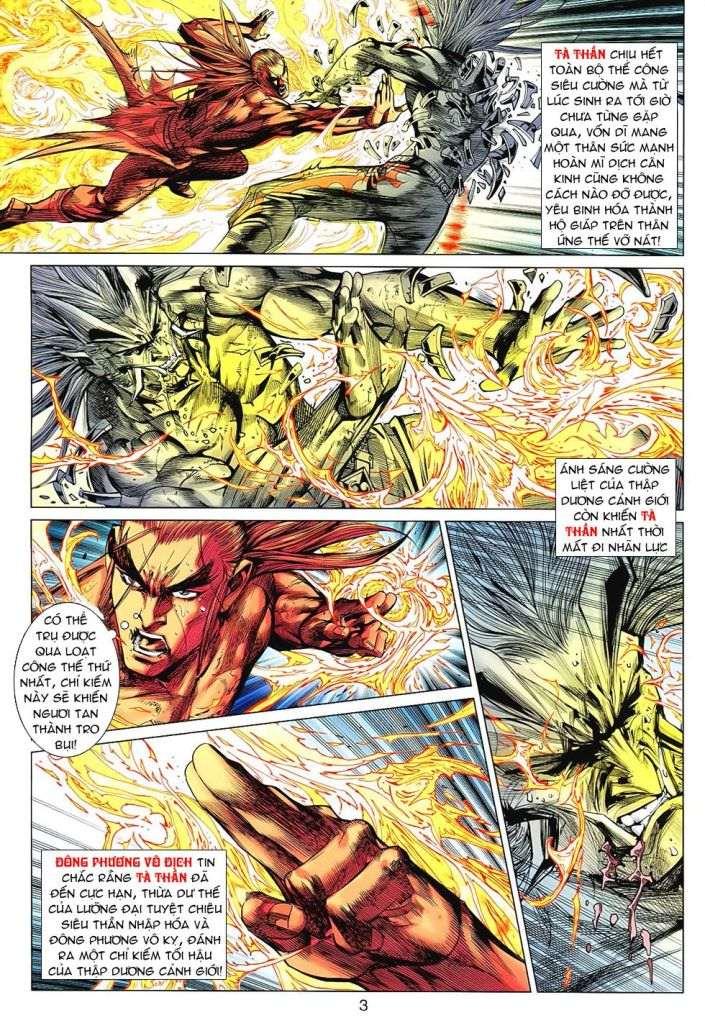 Hoả Vân Tà Thần II chap 99 - Trang 3