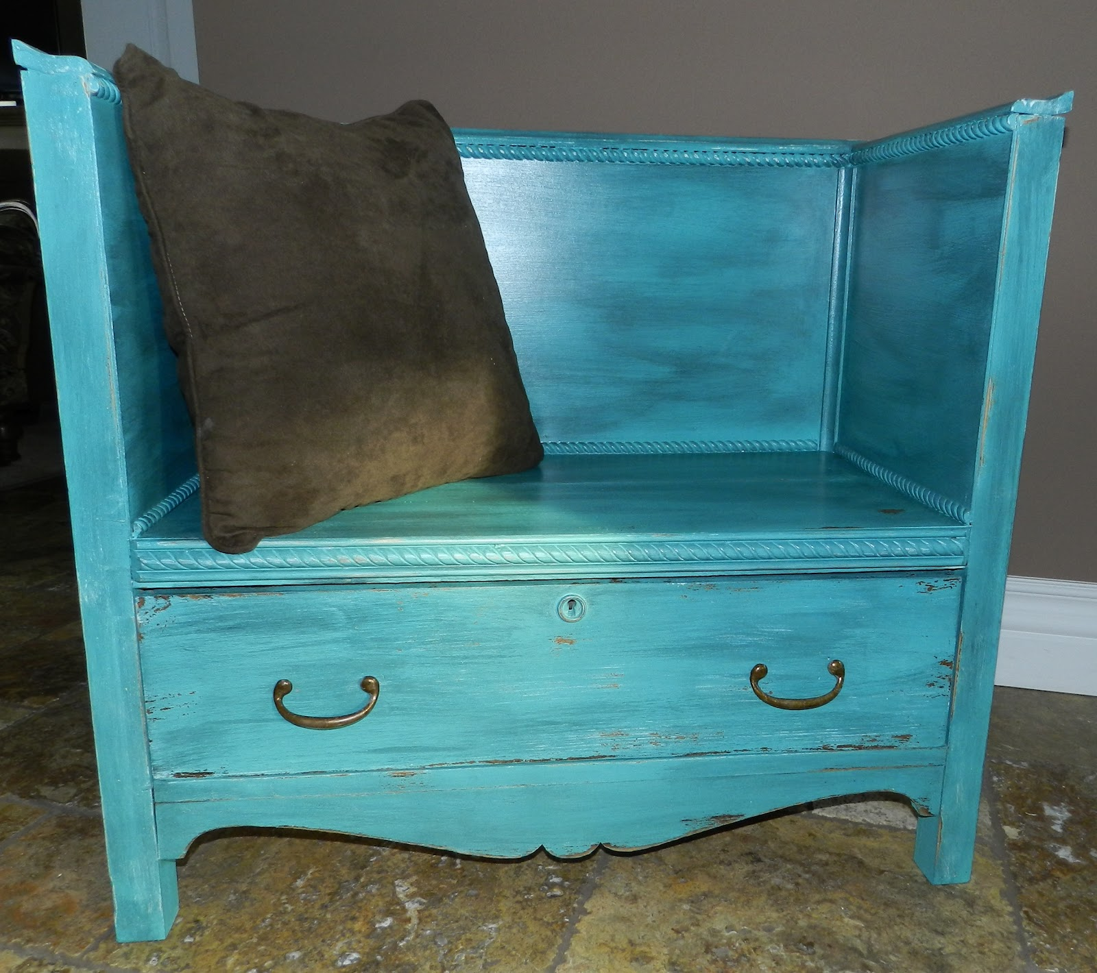 Crafty In Canada Dresser To Bench