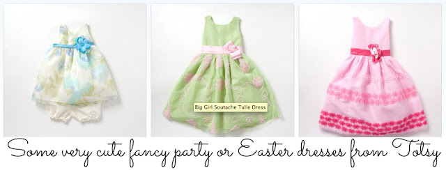 Spring and Easter dresses from Totsy #cbias