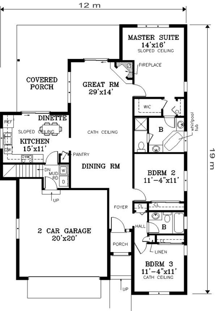 desain rumah sederhana satu lantai 140 m2 desain rumah