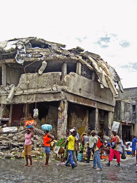 Terremoto desolador en 2010 en Haití.