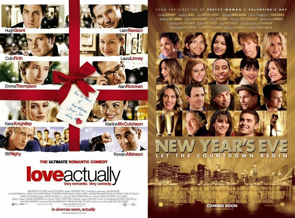 Movie Battle Love Actually Vs New Years Eve