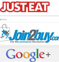 Just Eat, Join2Buy, Google+ y las novedades del mundo de los videojuegos