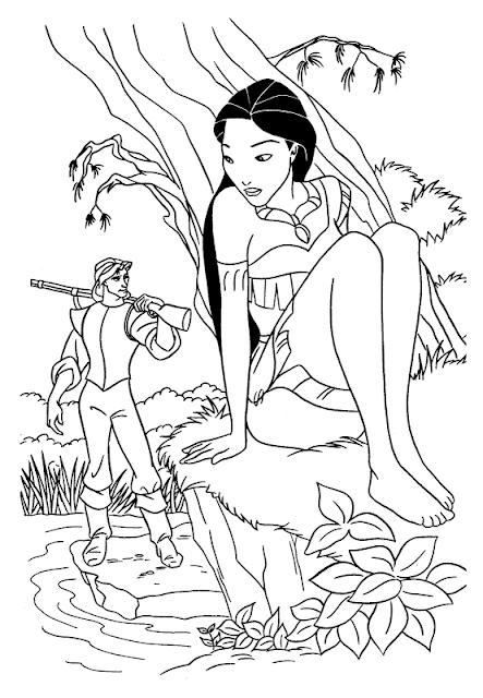 Disney coloring pages coloring.filminspector.com Pocahontas