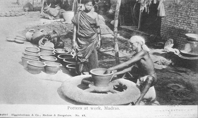 Potters-at-Work---Madras-%2528Chennai%2529