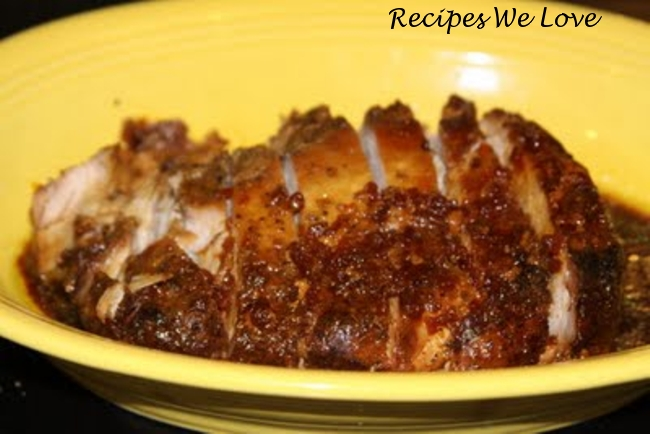 Slow Cooked Pork Tenderloin