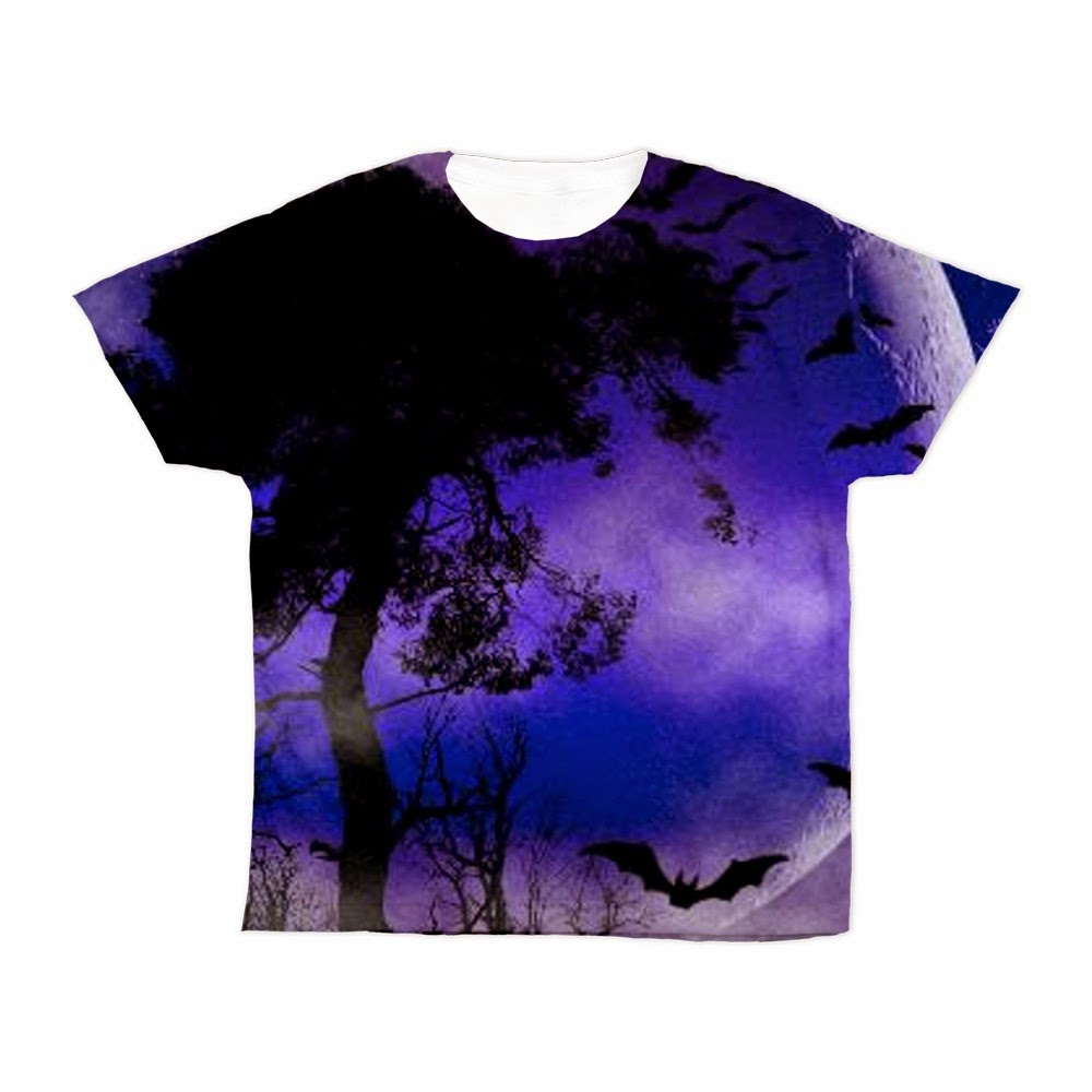 Sold purple night moon kid 39 s all over print t shirt by for T shirt printing fresno