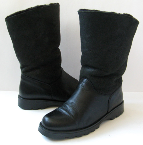 Women Winter Leather Boots | Homewood Mountain Ski Resort