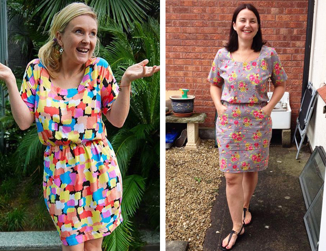 Bettine dress - sewing pattern from Tilly and the Buttons