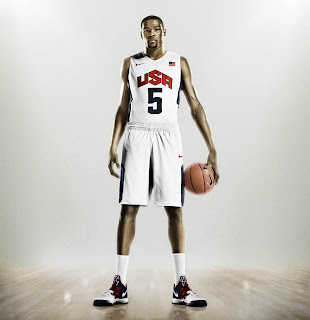 Kevin Durant USA National Basketball Team Olympics 2012 HD Wallpaper