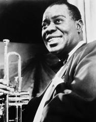 Louis Armastrong, el grandísimo cantante y trompetista clave en la historia del jazz