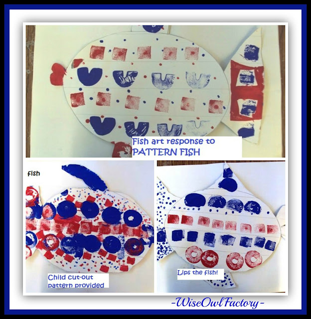 """Pattern Fish Art Response"" in Pattern RoundUP at RainbowsWithinReach"